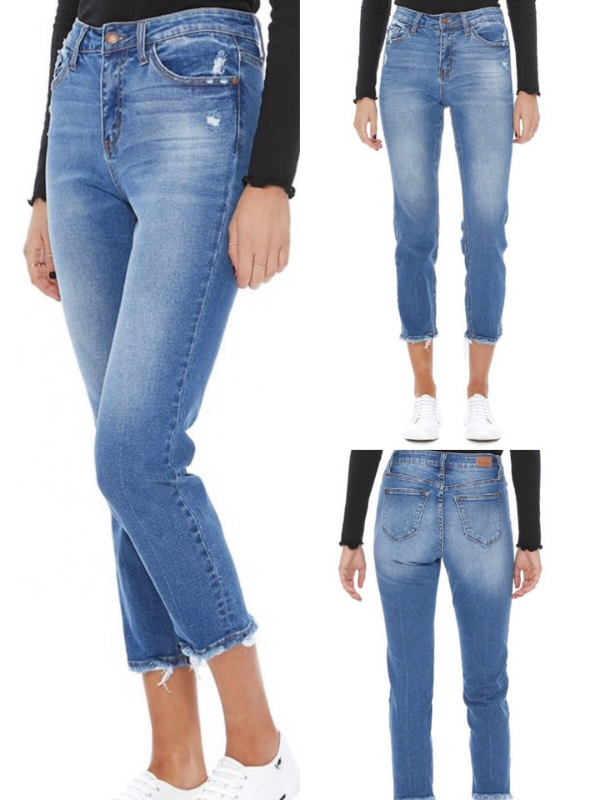 Jasmine High Waisted Jeans - light wash