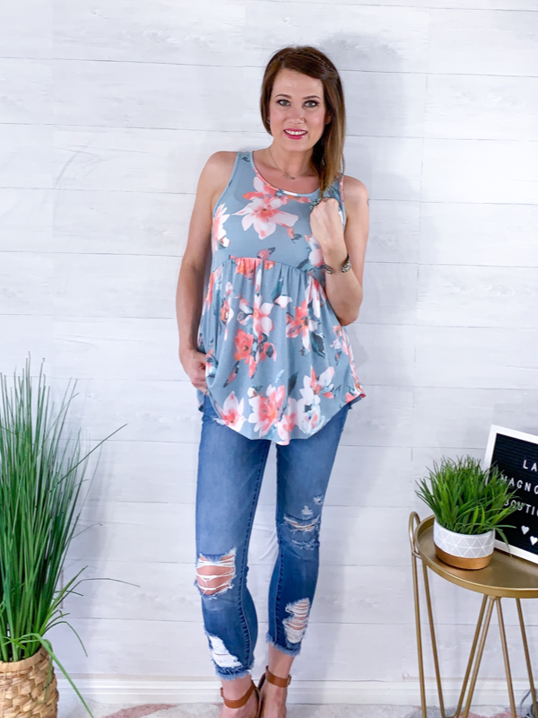 Newfound Love Top - Blue