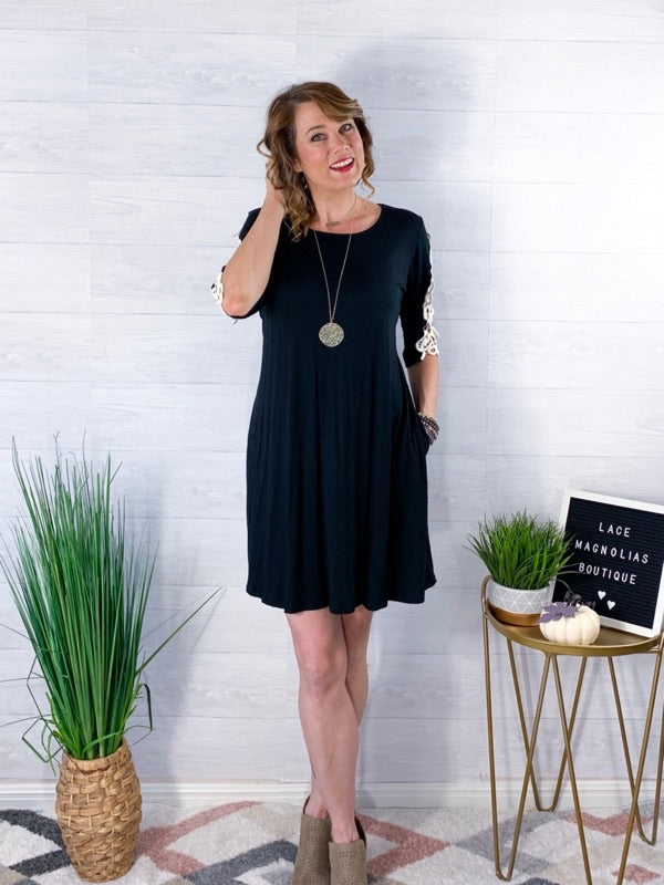 Timeless Beauty Dress - Black