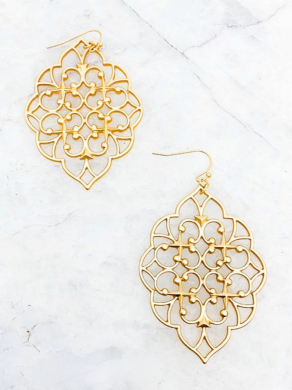Stella Earrings - Gold