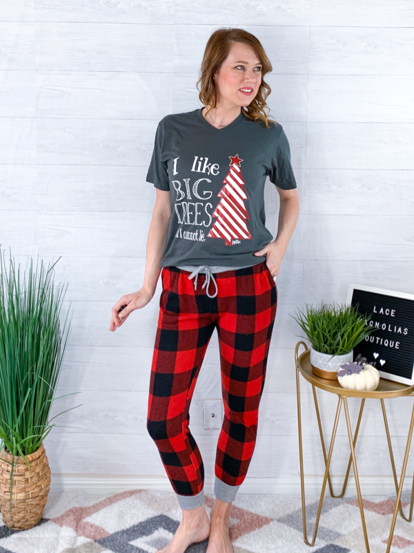 Cozy Nights Plaid Jogger Pants