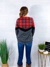 Cozy By The Fire Pullover - Plaid