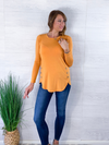 Perfect Day Top - Mustard