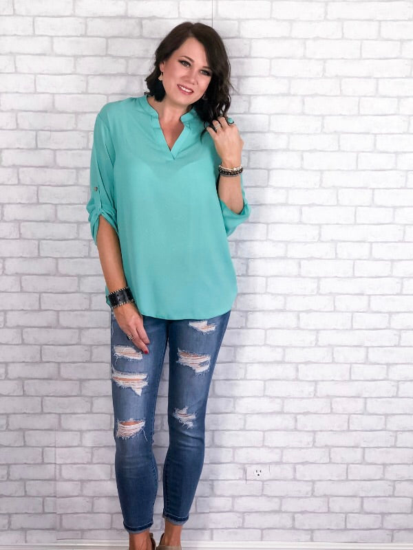 Daydreaming Top - Mint
