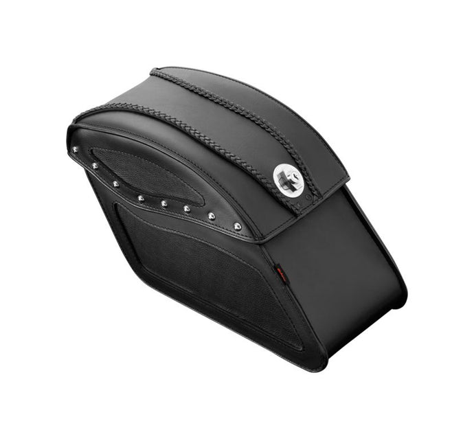 tek leather with lock saddlebags
