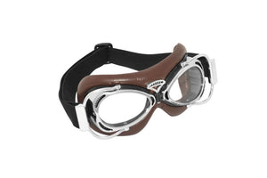 goggles dakota brown chrome