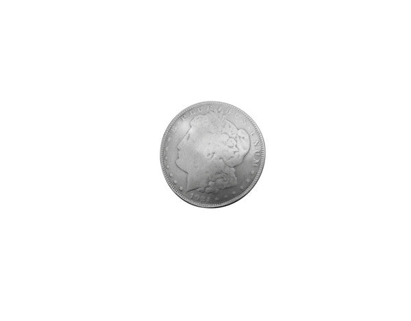 1921 replica silver dollar emblem button for decoration: jackets bags