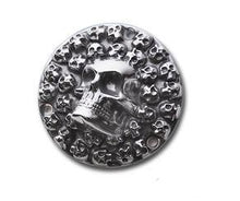 Load image into Gallery viewer, 3D Skull Derby Cover 3 Hole Harley-Davidson 1970-98 Evolution Big Twin
