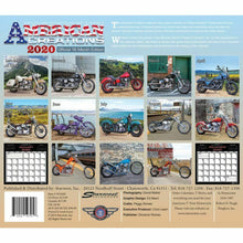AMERICAN CREATIONS 2020 CALENDAR - World Class Harley Motorcycles Past & Present
