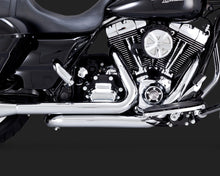 Vance & Hines Dresser Duals Exhaust Chrome 2009-2016 Touring