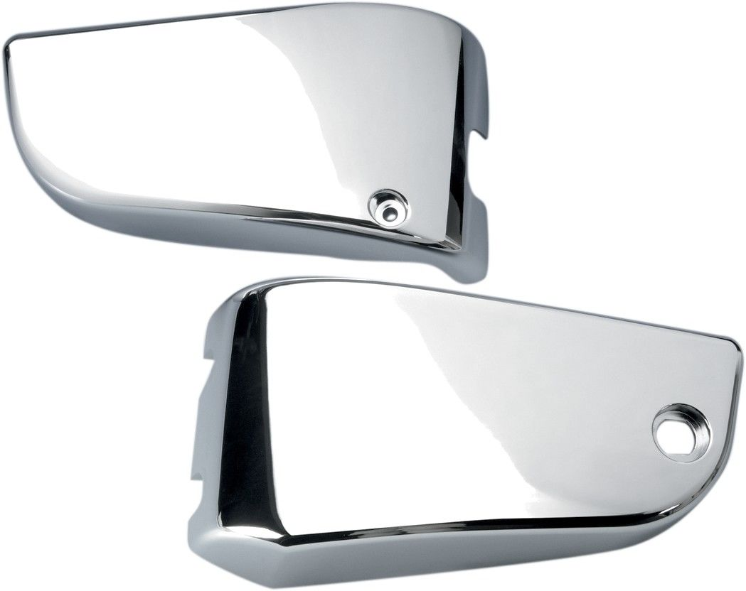 Chrome Side Panel Covers Kawasaki VN1500 Vulcan Classic/Nomad