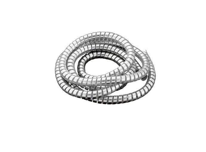 chrome spiral cable wrap wire tidy 10mm motorbike trike