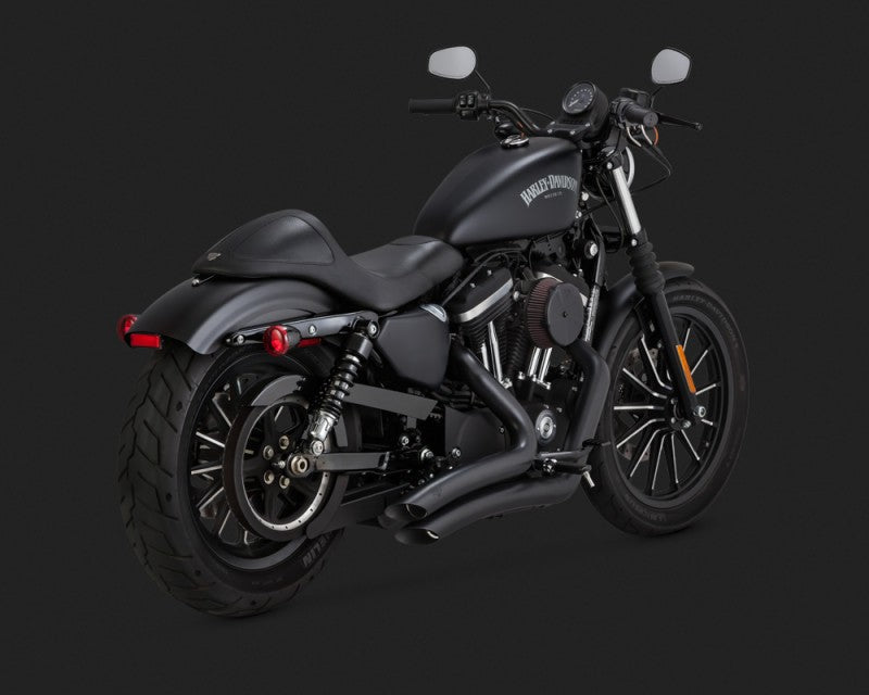 Vance & Hines Big Radius 2-into-2 Exhaust Black 2014-2017 Sportster