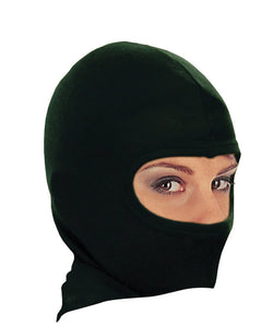 Thermal Cotton Black Balaclava Under Helmet Protection