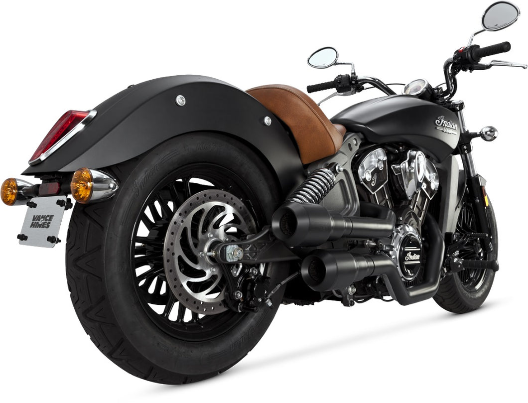 Vance & Hines Hi-Output Grenades Exhaust 2015-2017 Indian Scout