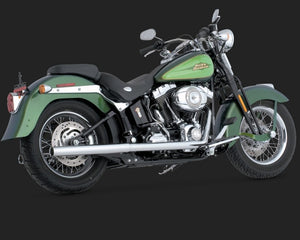Vance & Hines Softail Duals Exhaust Chrome 1997-2011 Softail