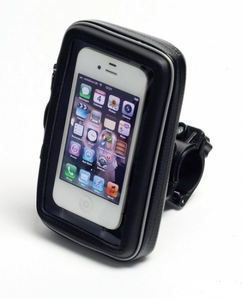 Handlebar Mount Pouch/Phone Holder for iPhone 4S, Blackberry, Mobile