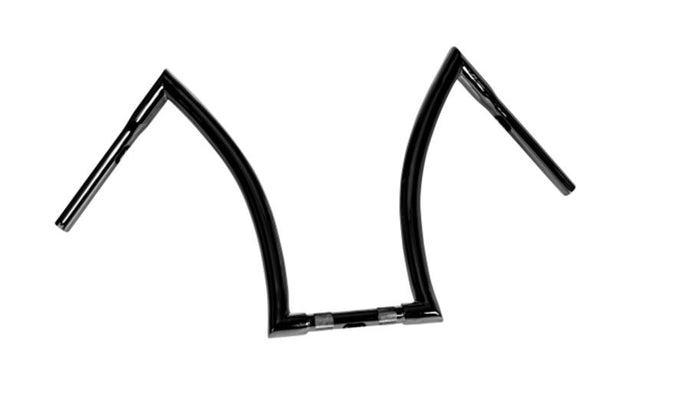 handlebar bad ape hanger 18 inch 32mm black