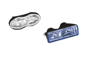 headlight unit for double oval