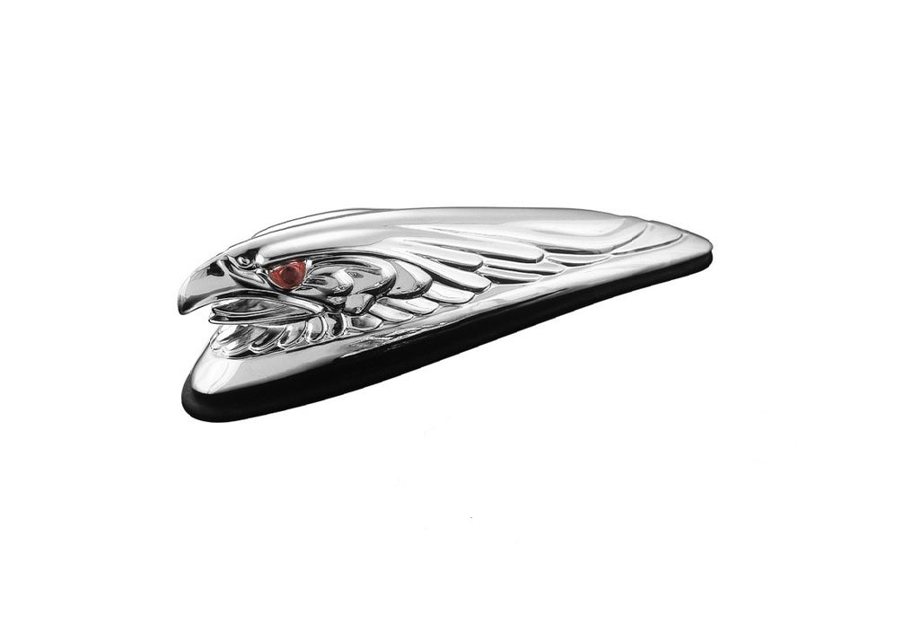 chrome eagle head fender light motorcycle mud guard s