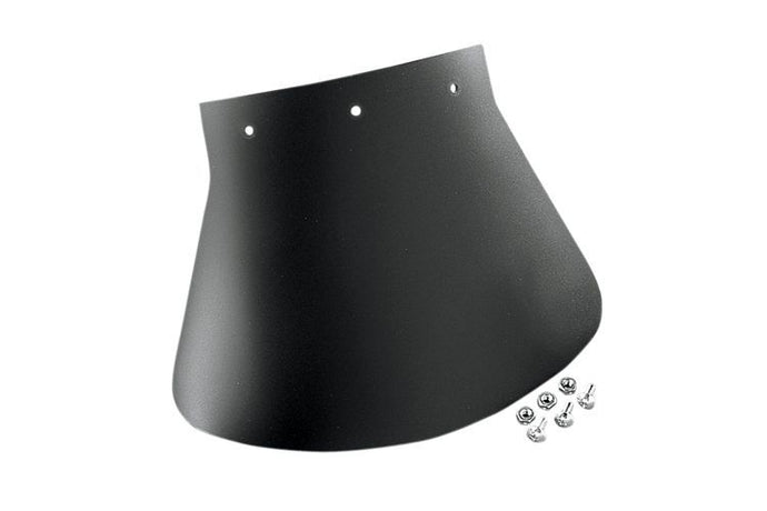 Plain Black Mud Flap Spray Suppression for Harley-Davidson - Large