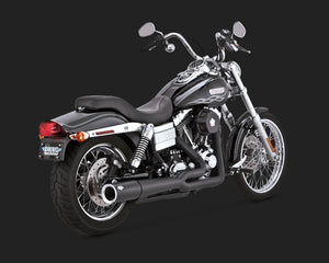 Vance & Hines Pro-Pipe 2-into-1 Exhaust Black 2012-2017 Dyna