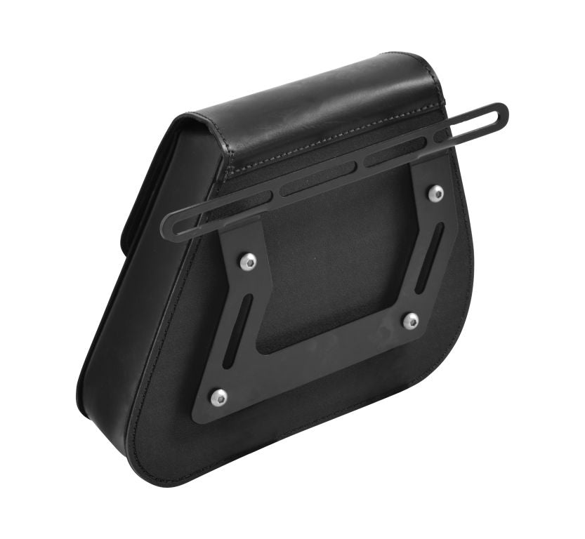 Saddlebag Support Set Black Fits Most Bikes