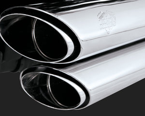 Vance & Hines Shortshots Staggered Exhaust Chrome 2012-2017 Dyna