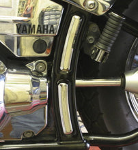 Load image into Gallery viewer, Chrome Frame Covers for Yamaha Drag Star Custom/Classic, Set of 4