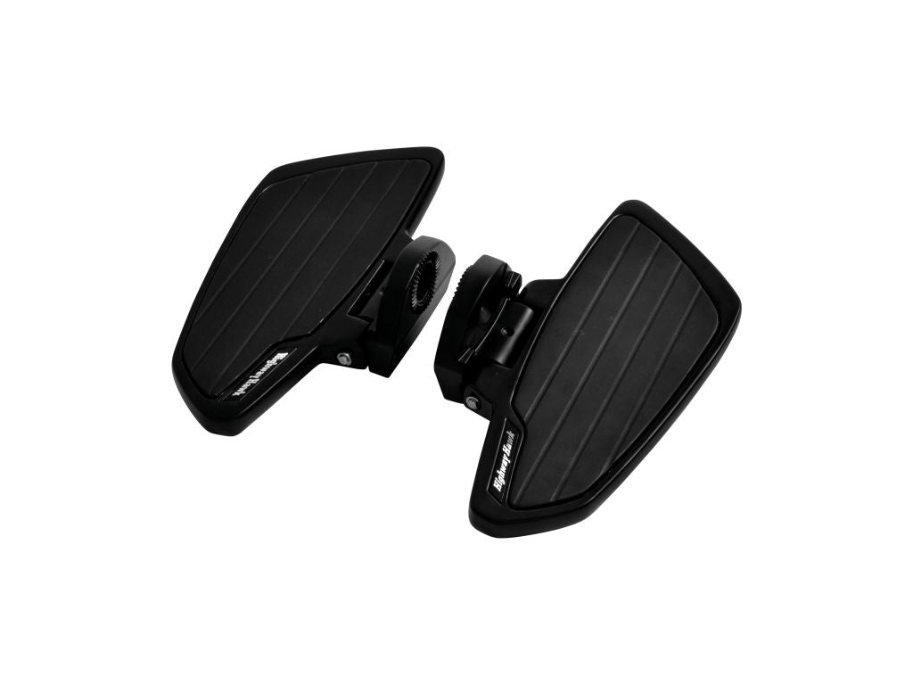 Floorboards Set Smooth Black Rider Boards Kawasaki VN1500/VN1600,VZ1600