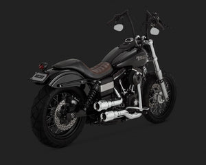 Vance & Hines Hi-Output Grenades Exhaust Chrome 2006-2017 Dyna
