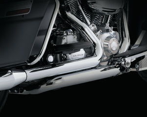 Vance & Hines Dresser Duals Exhaust Chrome 1995-2008 Touring
