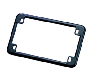 "Black Licence/Number Plate Trim Surround for American 7"" x 4"" Plates"