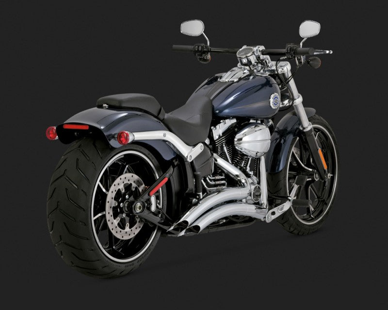 Vance & Hines Big Radius 2-into-2 Exhaust Chrome 2013-2017 Breakout