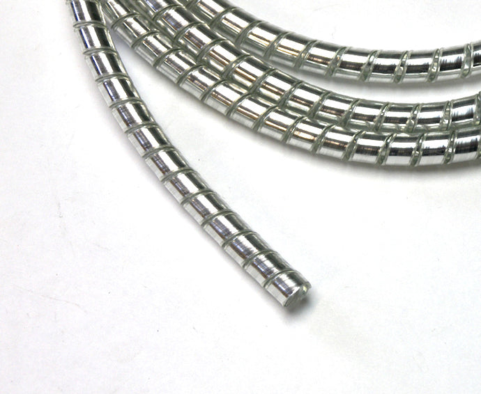 chrome spiral cable wrap wire tidy 6mm motorcycle trike