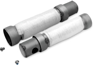 250mm Long Whisper Quiet Exhaust Baffle for 50mm Drag Pipes Baffle O.D. 46mm