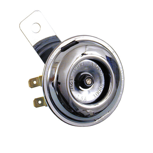 Small Chrome Smooth Universal Horn 65mm (2.5