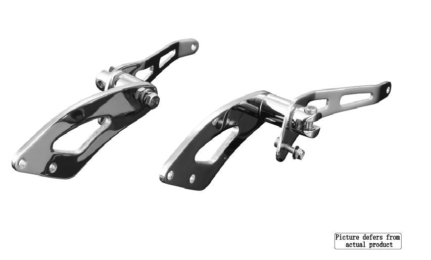 forward controls without pegs suzuki m800 intruder boulevard m50 2010 up