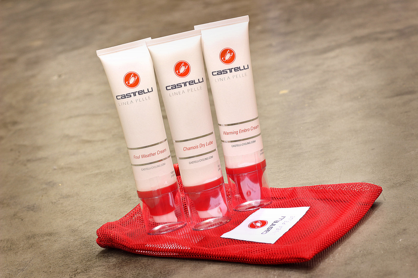 Castelli Linea Pelle Skin Care: Up Close