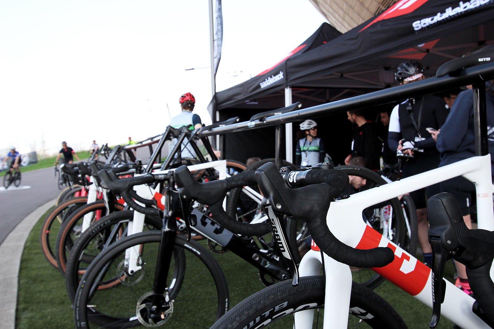 3T Causes A Stir At The First Cyclist Track Days Event