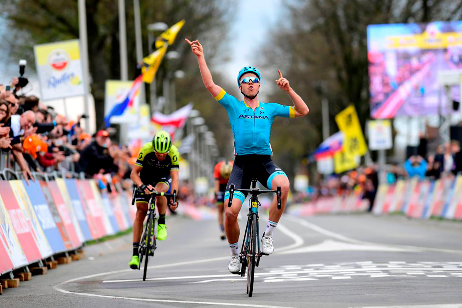Michael Valgren And Sidi Win Amstel Gold Race