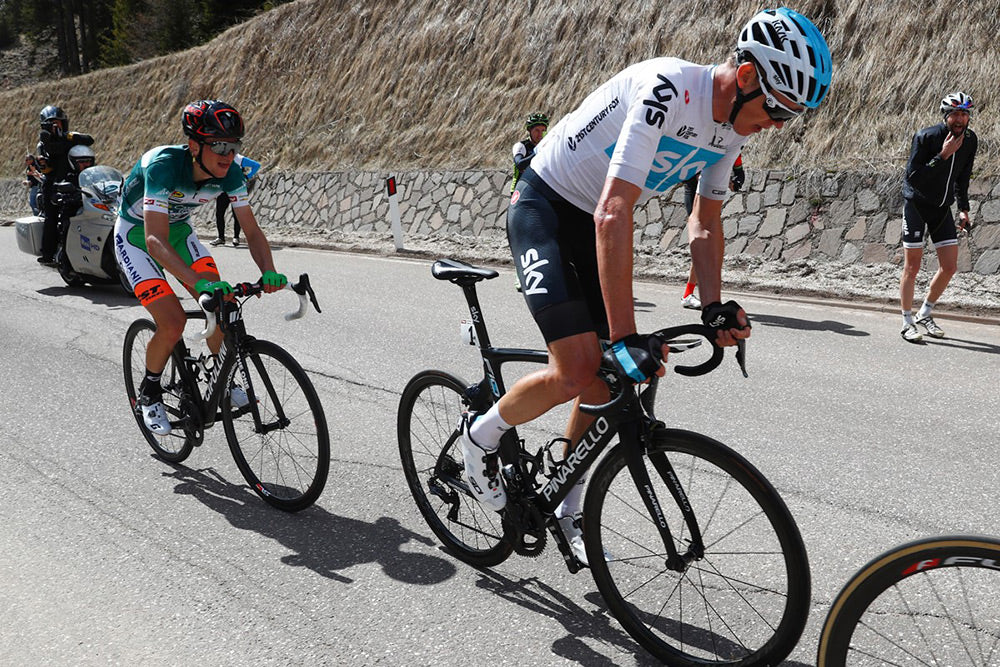 Sidi Alps Chris Froome