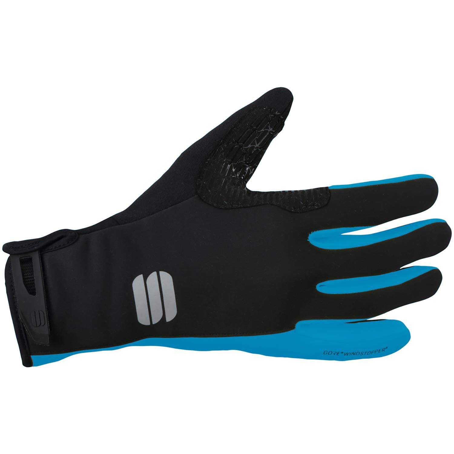Sportful-Sportful WS Essential 2 Gloves-Black/Blue Atomic-XS-SF019683981-saddleback-elite-performance-cycling