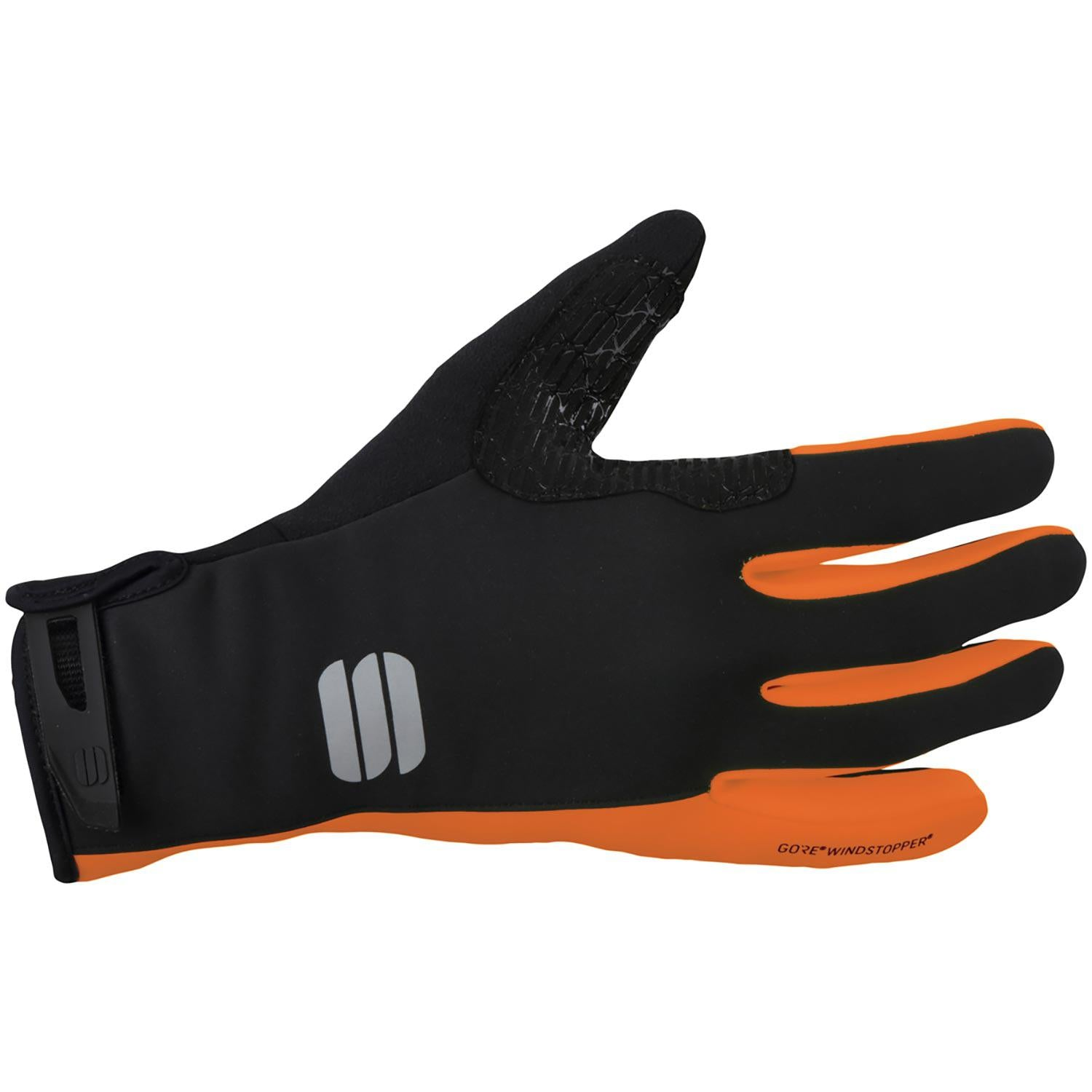 Sportful-Sportful WS Essential 2 Gloves-Black/Orange SDR-XS-SF019688501-saddleback-elite-performance-cycling