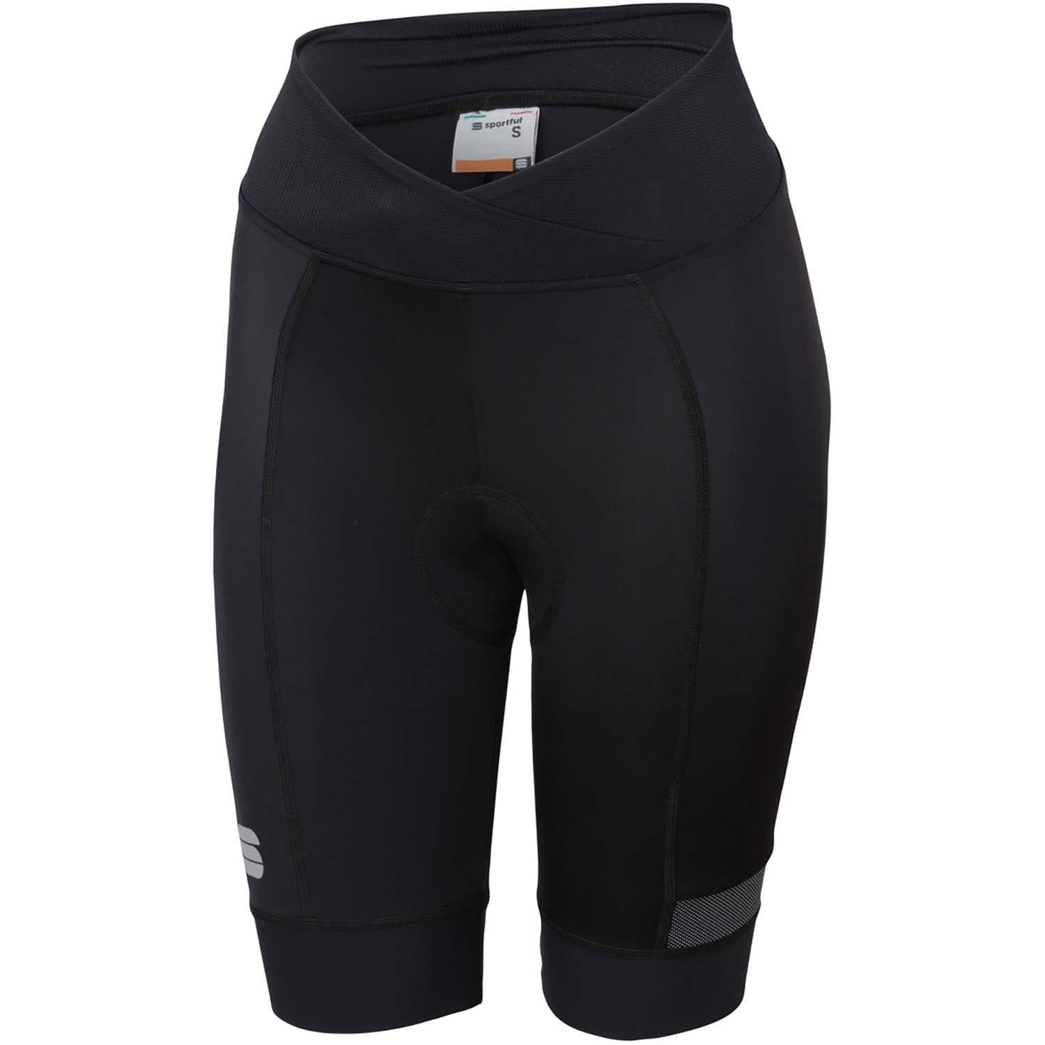 Sportful-Sportful Giara Women's Shorts-Black-XS-SF020240021-saddleback-elite-performance-cycling
