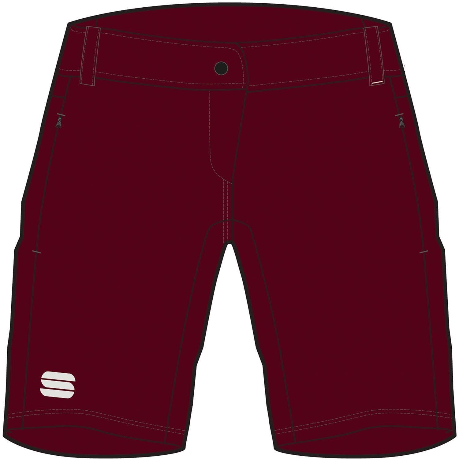 Sportful-Sportful Giara Women's Overshorts-Red Wine-XS-SF020256051-saddleback-elite-performance-cycling