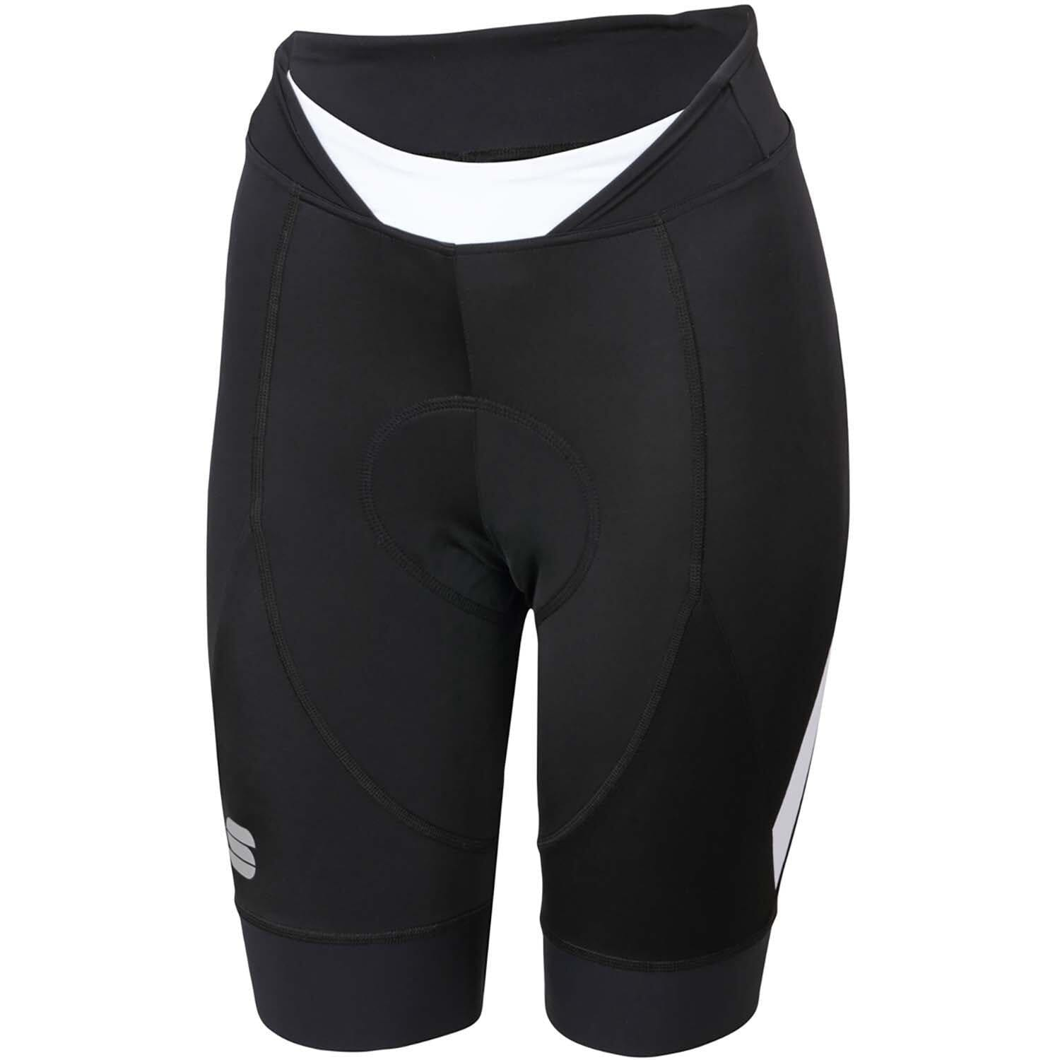 Sportful-Sportful Neo Women's Shorts-Black/White-XS-SF020431021-saddleback-elite-performance-cycling