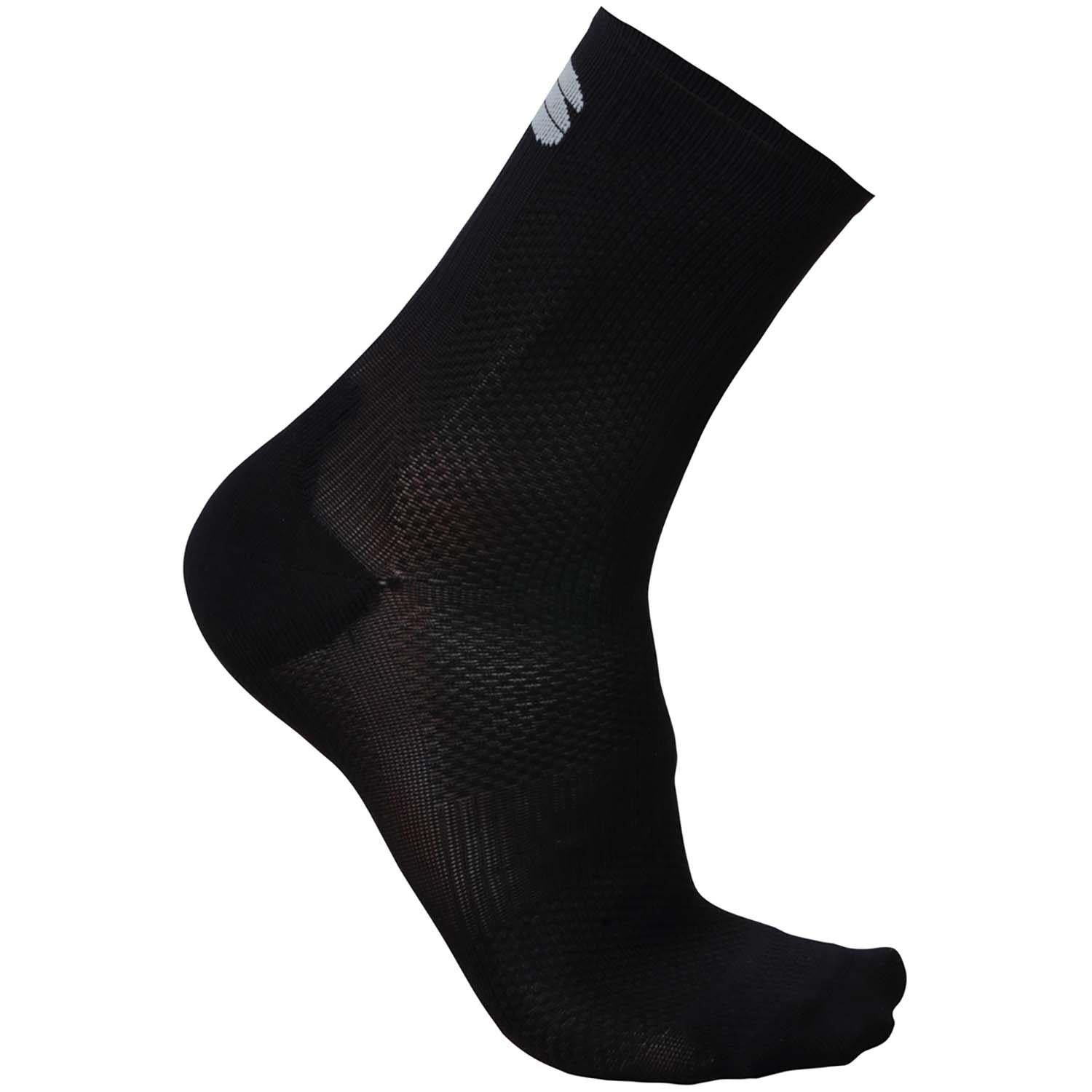Sportful-Sportful BodyFit Pro 12 Socks-Black-S-SF0205600212-saddleback-elite-performance-cycling