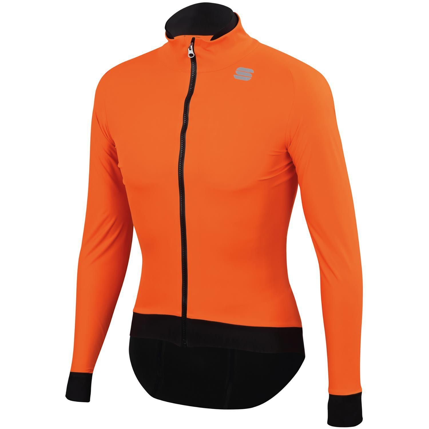 Sportful-Sportful Fiandre Pro Jacket-Orange SDR-S-SF195008502-saddleback-elite-performance-cycling