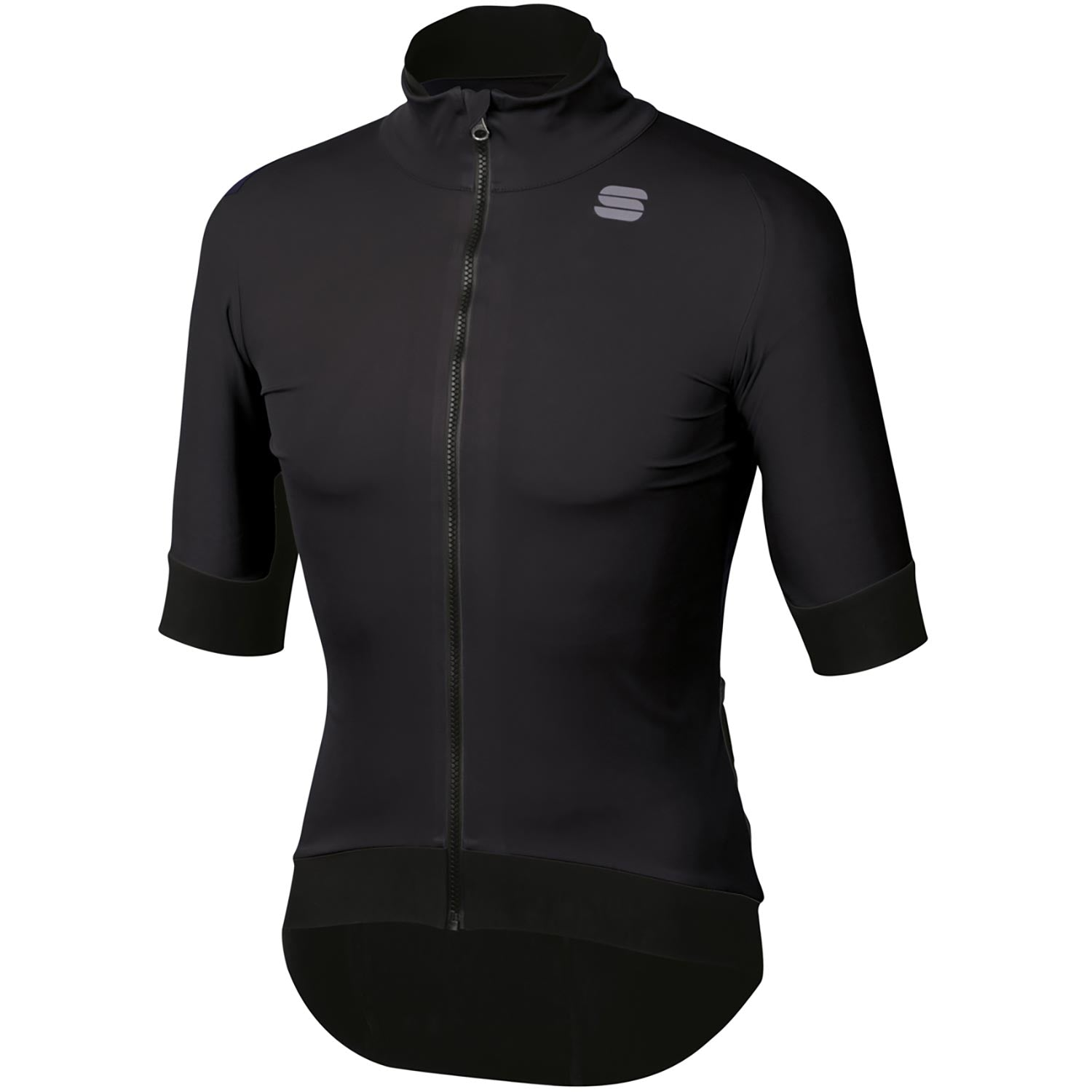 Sportful-Sportful Fiandre Pro Short Sleeve Jacket-Black-S-SF195010022-saddleback-elite-performance-cycling